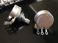 CTS 500K SHORT SPLIT SHAFT AUDIO TAPER POT - 1X (SINGLE)