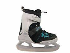 K2 Juno Ice Patins à Glace Junior Multicolore Blanc/Noir/Turquoise 32 à 37 Neuf