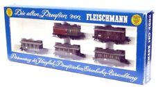 216HO Fleischmann H0 5850 k Postwagen grün//braun Altona // KPEV top in OVP