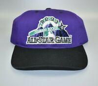 Vintage Logo 7 MLB 1998 All-Star Game Colorado Rockies Men's Snapback Cap Hat