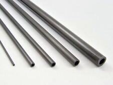 5x  200mm Lengths Carbon Fibre Tubes Rods Strips: 2, 3, 4, 5, 6, 8,10,12,15,20mm
