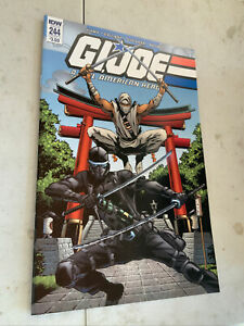 IDW GI JOE: REAL AMERICAN HERO #244 COVER A : FEMALE SNAKE EYES