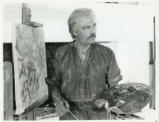STACY KEACH AS ARTIST MISTRAL'S DAUGHTER ORIGINAL 1984 CBS TV PHOTO