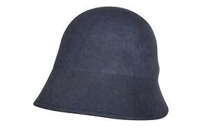 Amanda Christensen By Wigens NWT Crushable Bucket Cap Size 57, 7 & 1/8th US Blue