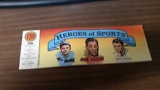 PC (Pacific Comics) Heros of Sports (1984) Will Eisner, FREE SHIPPING
