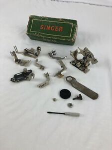 Vintage Singer Attachments for 301 Class Sewing Machine with Box 160623