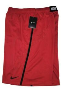 Nike Epic Athletic Basketball Training Shorts 376067-649 Red / Black w/Pockets