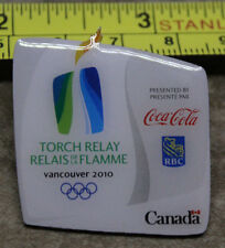 2010 Torch Relay Coca Cola RBC Bank Vancouver Winter Olympics Paralympics Pin