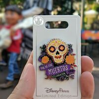 Coco Sugar Skull Halloween Pin 2019 Disney Day of Dead Dia de Muertos LE 5000