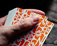 Bicycle Ellusionist Madison Orange Hustlers US Playing Cards Magic Poker NEW