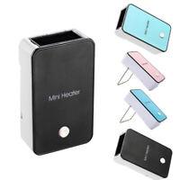 Mini Portable Electric Heater Desktop Winter Warm SpaceDesk Fan Office Home Use