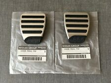 Nissan Genuine Aluminum Clutch & Brake Pedal Pad Cover for 370Z/Infiniti G37
