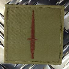 Genuine British ROYAL MARINES Royal Navy COMMANDO Dagger Patch / Badge - NEW x 2