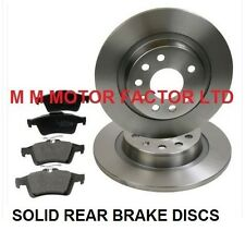 Astra 2.0T 16v Sport 05-06 Rear Brake Discs Drilled Grooved Gold Edition