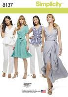 Simplicity Gabarit de couture pour femmes'/ Womens Wrap Haut Robe Pantalons