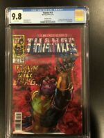 MARVEL THANOS 13 CGC 9.8 VARIANT 3D COVER FIRST APPEARANCE COSMIC GHOST RIDER