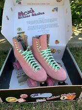 Moxi Lolly roller skates Size 10 Strawberry Pink New : Unused :