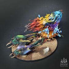 Burning Chariot of Tzeentch intergalactic ** COMMISSION ** painting
