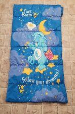 2003 Care Bear Sleeping Bag Follow Your Dreams