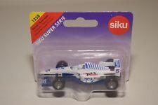 V 1:64 SIKU 1358 FORMULA 1 F1 RACING CAR WHITE TV SPORT MINT BOXED ON CARD