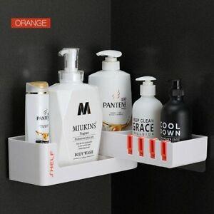Luxury Shelf Corner Shampoo Holder For Bathroom Rotating Rack Soap Organizer