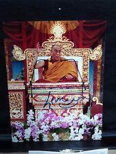 RARE 14th Dalai Lama signed 8x10 color photo  JSA LOA X97409