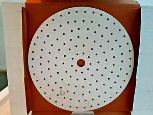 Exsikkator Platte Porzellan Durchmesser 280 mm.