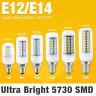 110V 220V Bulb Lamp E12 E14 Base 5730 SMD LED Bulb Light Corn Lamp Effective 27