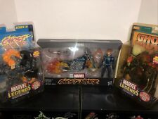 MARVEL LEGENDS GHOST RIDER SERIES VII(7), lll(3) & Vehicle JOHNNY BLAZE 2020 MIB
