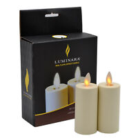 Luminara Flameless Flickering Led Votive Candles Battery Operated with Remote