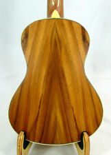 Alulu Solid Acacia Koa Tenor Ukulele, natural wood grain, hard case, HU837