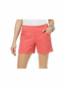 INC Womens Coral Shorts  Size 16