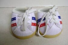Build a Bear Sneakers Red/White And Blue