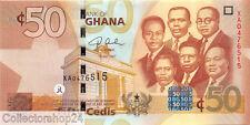 Ghana 50 Cedis 2007 Unc pn 41a