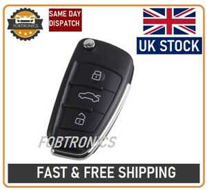 NEW Remote Key Shell for AUDI 3 Button Case A2 A3 A4 A6 A6L A8 TT with LOGO--A21