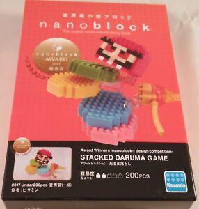 Kawada nanoblock STACKED DARUMA GAME - japan building toy block  NEW NBC_275