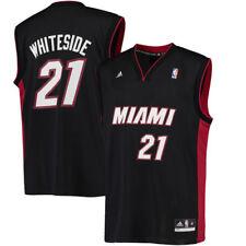 Hassan Whiteside Miami Heat Black Away Jersey XL NEW