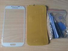 Cristal de Pantalla Blanca para Samsung Galaxy S4 I9500 +Adhesivo + Herramientas