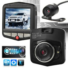 Mini Car DVR 1080P HD Dual Lens Camera Full Video Recorder Dash Cam Night Vision