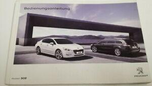 Peugeot 508 Handbuch 2010  Betriebsanleitung   Bedienungsanleitung