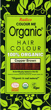 Colour Me 100% Certified Organic Hair Colour by Radico - Copper Brown