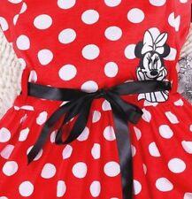 Kids Baby Girls Dresses Cartoon Minnie Mouse Bowknot Princess Dress Party Age2-7