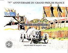 Central African Republic 1981 75th Anniv Grand Prix Souvenir Sheet MNH (SC# 475)