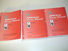 2008 GM Pontiac SOLSTICE Saturn SKY Service Shop Workshop Repair Manual Set New