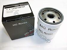 New Genuine OE MG ROVER 25 45 MG ZR PETROL 1.4 , 1.6   OIL FILTER LPW100181
