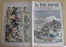 Le petit journal 1905 N° 774 Noyés Boulogne sur Mer Loisirs soldats japonais