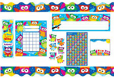 Owl Classroom School Teacher Mega Pack - Stickers, Trimmers, Bookmarks & More