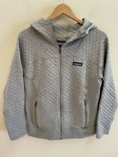 Patagonia Women's Organic Cotton Quilt Hoody Full Zip Sweatshirt Medium