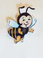Bee ! - Free Uk P&P.Cg1481 Cute Acrylic Brooch - The Queen