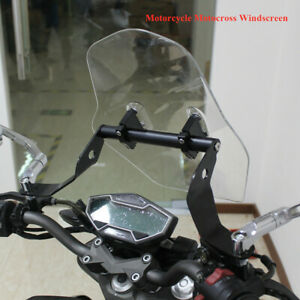 E-Bike Front Windshield Windshield Thickened universal Motorcycle Windscreen